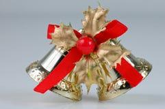 De decoratieklok van Kerstmis Stock Foto