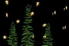 De scène van de Kerstmisdecoratie royalty-vrije stock afbeelding