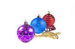 De decoratiesnuisterij van Kerstmis Royalty-vrije Stock Afbeeldingen
