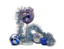 De decoratiethema van Kerstmis Royalty-vrije Stock Afbeelding