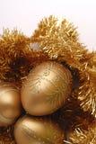 De decoratiethema van Kerstmis stock foto