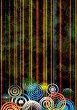 De decoratieve achtergrond van Grunge Royalty-vrije Stock Afbeeldingen
