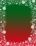 De decoratieve Achtergrond van Kerstmis Royalty-vrije Stock Foto's