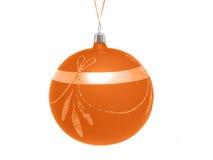 De decoratieve bal van Kerstmis Stock Afbeelding