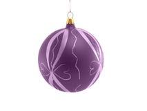 De decoratieve bal van Kerstmis Stock Foto