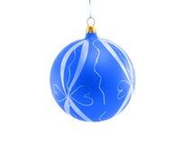 De decoratieve bal van Kerstmis Stock Foto's