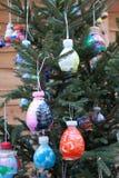 De Decoratieve Ballen van Kerstmis Stock Afbeelding