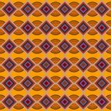 De decoratieve elementen van het Seamplesspatroon Royalty-vrije Stock Afbeeldingen