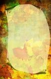De decoratieve herfst Stock Afbeeldingen