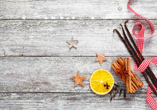De decoratieve kruiden van Kerstmis Stock Foto