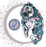 De decoratieve Leeuw van het Dierenriemteken Royalty-vrije Stock Foto