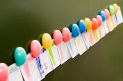 De decoratieve magneten van de kleur. stock foto's