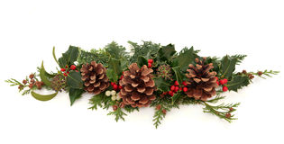 De Decoratieve Nevel van Kerstmis royalty-vrije stock fotografie
