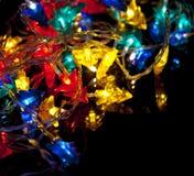 De decoratieve slinger van Kerstmis Stock Foto