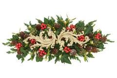 De Decoratieve Vertoning van Kerstmis Stock Foto