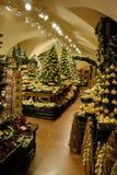 De decoratiewinkel van Kerstmis royalty-vrije stock afbeeldingen