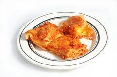 De deegwaren van de lasagna Stock Foto's