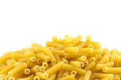De Deegwaren van de macaroni royalty-vrije stock foto