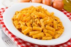 De deegwaren van de macaroni stock foto's