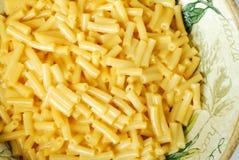 De Deegwaren van de macaroni en van de Kaas royalty-vrije stock afbeelding