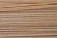 De deegwaren van de spaghetti Stock Foto's