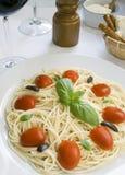 De deegwaren van de spaghetti Royalty-vrije Stock Foto