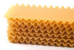 De Deegwaren van lasagna's Royalty-vrije Stock Foto's
