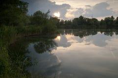 De Deense Aard van het water Landscape royalty-vrije stock foto's