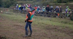 De Deense motocross royalty-vrije stock foto