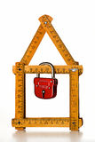 De defensie van het huis stock afbeelding