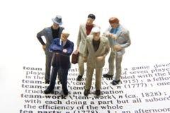 De Definitie van het groepswerk Stock Foto's