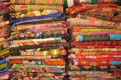 De dekbedden van Jaipur Stock Afbeeldingen