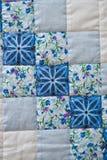 De deken maakte manueel van stoffenplakken 2995 Royalty-vrije Stock Afbeelding