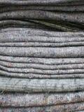 De dekens van de wol Royalty-vrije Stock Fotografie