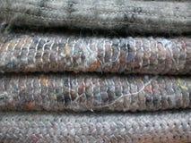 De dekens van de wol Royalty-vrije Stock Afbeeldingen