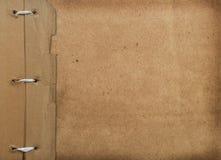 De dekking van Grunge voor een album met foto's Royalty-vrije Stock Afbeeldingen