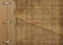 De dekking van Grunge voor een album met foto's. Portefeuille Royalty-vrije Stock Afbeelding