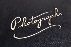 De dekking van het album Royalty-vrije Stock Fotografie