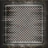 De dekking van het mangat (Naadloze textuur) Stock Afbeeldingen