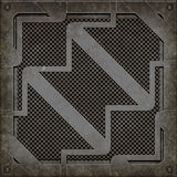 De dekking van het mangat (Naadloze textuur) Royalty-vrije Stock Foto