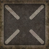 De dekking van het mangat (Naadloze textuur) Stock Foto