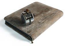 De dekking van het oude notitieboekje Royalty-vrije Stock Afbeelding