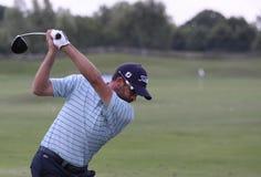 de delamontagne法国francois打高尔夫球开放 免版税库存照片