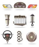De delen van de auto Royalty-vrije Stock Afbeeldingen