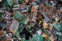 De delen van de computer Stock Foto