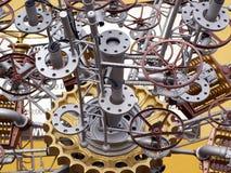 De delen van de machine Stock Afbeeldingen