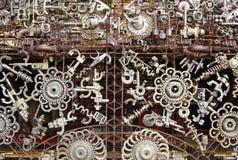 De delen van de machine stock foto