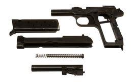 De delen van het pistool Royalty-vrije Stock Fotografie