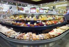 De delicatessenwinkel verzet tegenzich Stock Fotografie