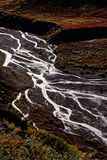 De delta van de rivier Royalty-vrije Stock Afbeeldingen